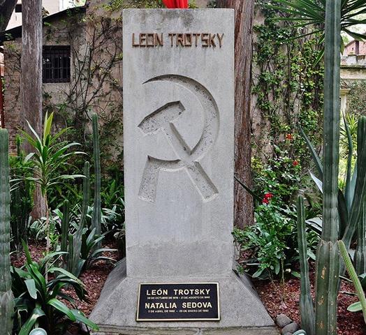 Могила Льва Троцкого в Мексике