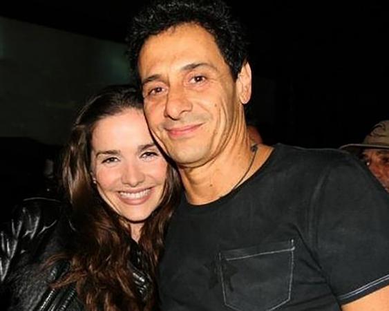 С мужем Рикардо