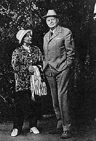 Вера Марецкая и Юрий Завадский
