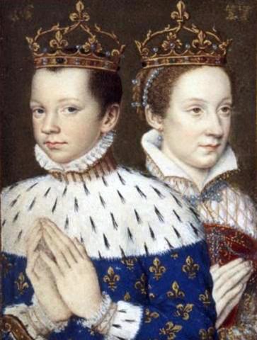 Мария Стюарт и Франциск II