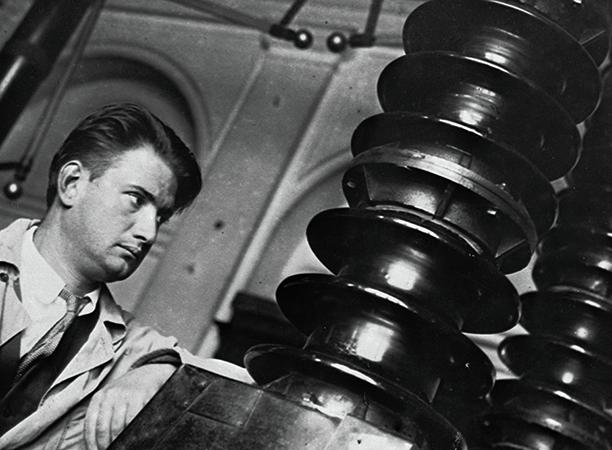 Во время работы в институте (1930-е)