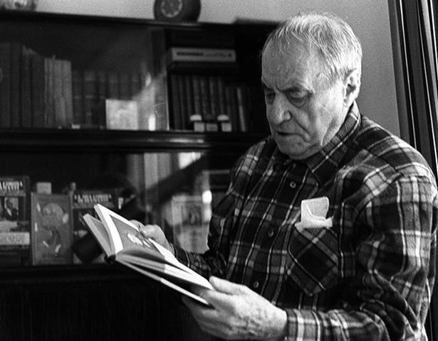 Валентин Катаев в старости