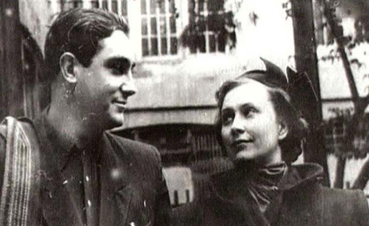 С женой Инной Кирилловой