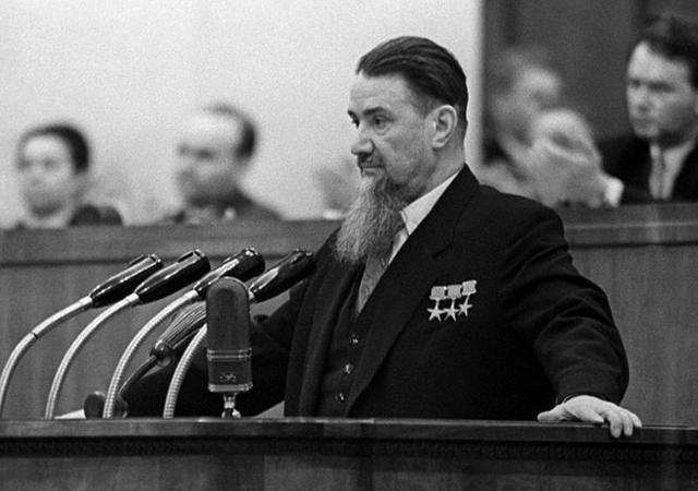 Выступление Курчатова на XXI съезде КПСС