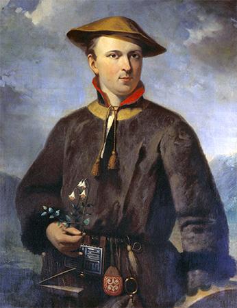 Карл Линней в экспедиции в Лапландии