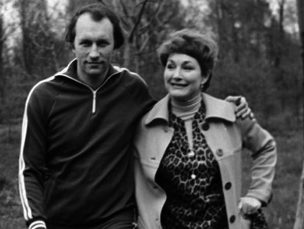 Людмила Хитяева и Валерий Леонтьев