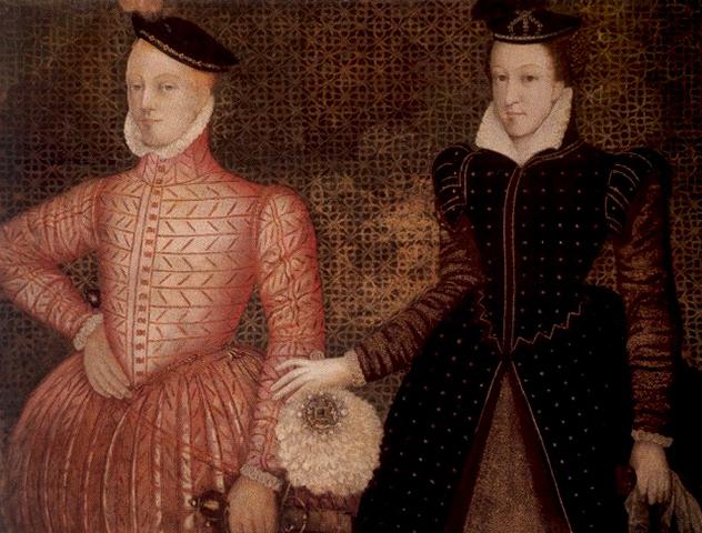 Со вторым мужем лордом Дарнли