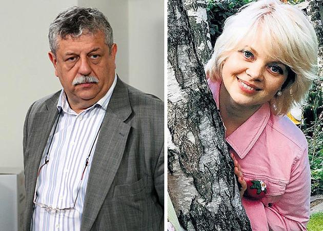 Михаил Борисов и Анна Маркова