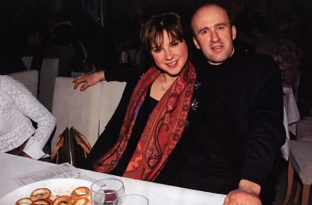 С первым мужем Сергеем Михеевым