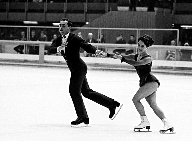Тамара Москвина и Алексей Мишин