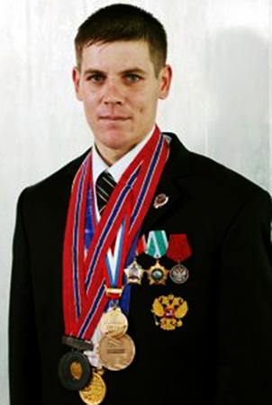 Алексей Мошкин в молодости