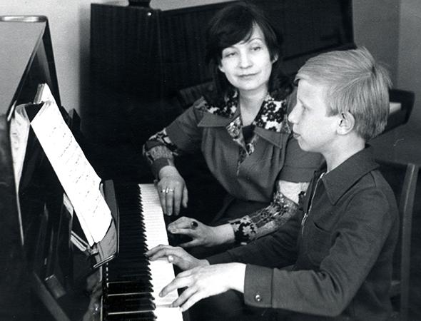 В начале занятий музыкой