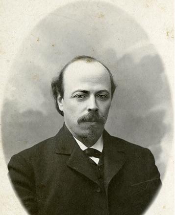 Михаил Нестеров в 1898 г.