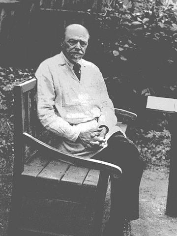 М. В. Нестеров в 1940 г.