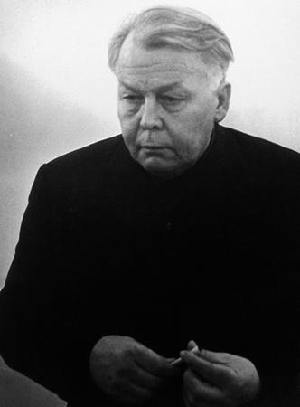 Александр Твардовский в старости