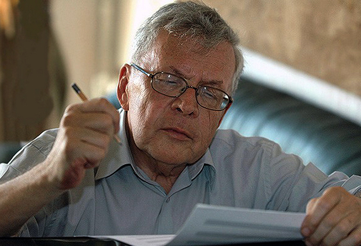 Андрей Петров в старости