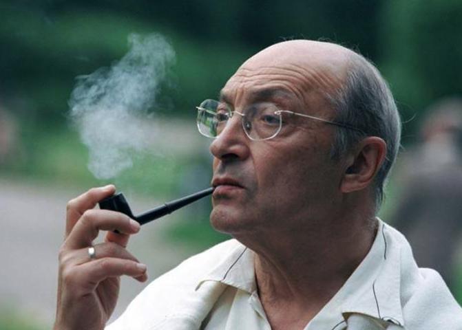 Михаил Козаков в старости