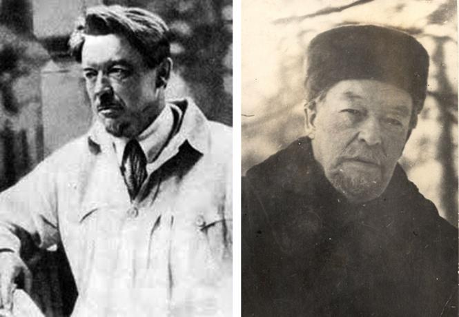 Вячеслав Шишков в старости