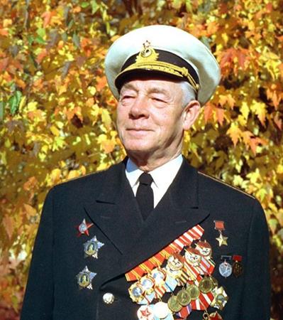 Николай Герасимович Кузнецов в старости