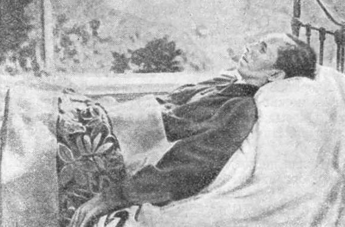 Николай Островский незадолго до смерти (1936)