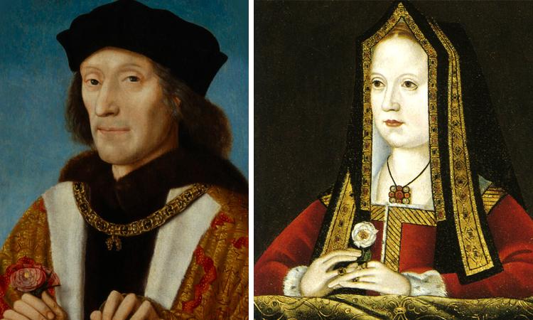 Родители — Генрих VII и Елизавета Йоркская