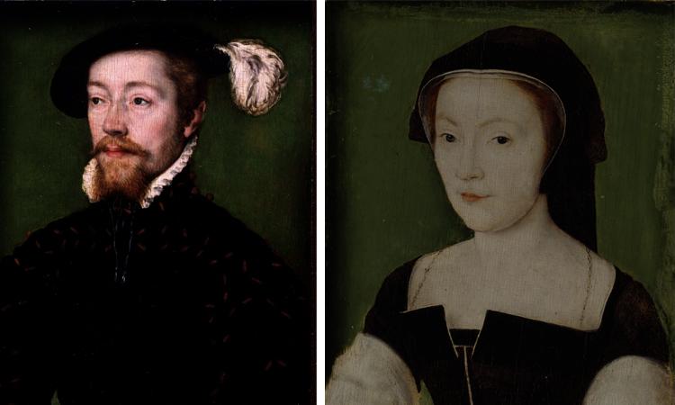 Родители — Яков V и Мария де Гиз
