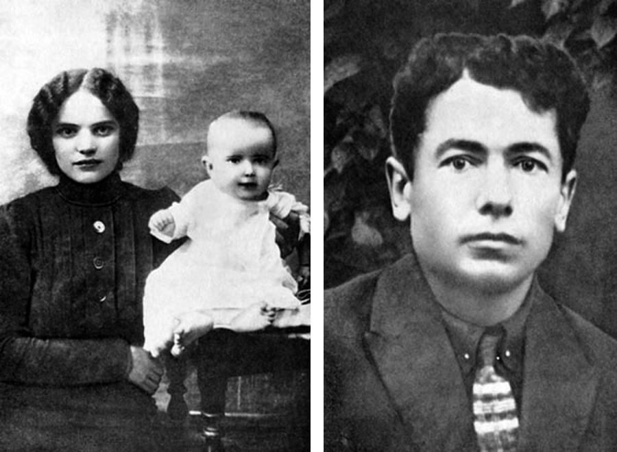 Родители Аркадия Кулешова
