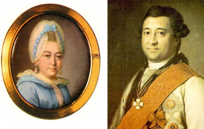 Родители — Мария Алексеевна и Осип Абрамович Ганнибал