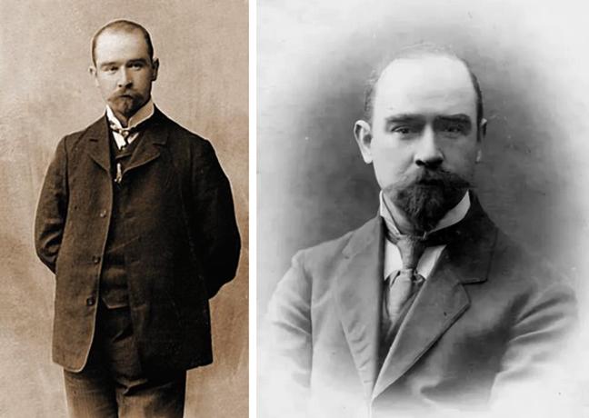 Павел Чесноков в молодости