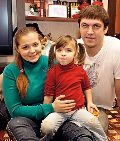 С Ириной Пеговой и дочерью Татьяной