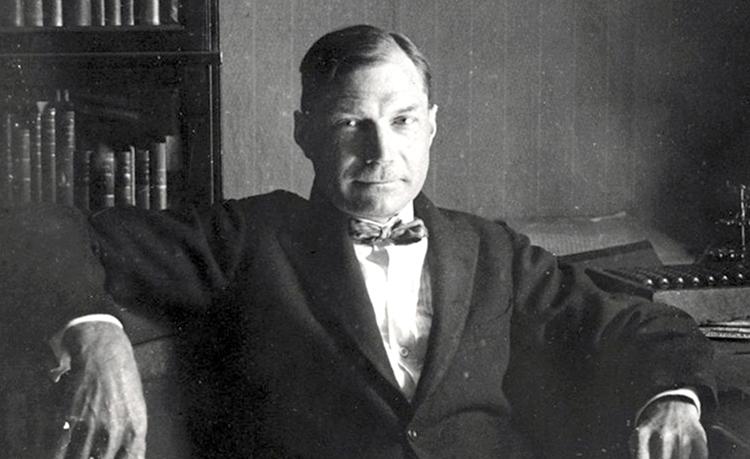 Писатель Евгений Замятин