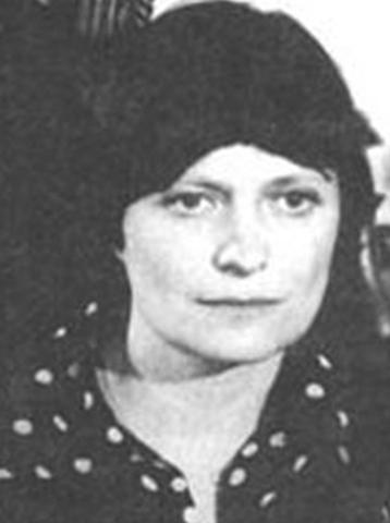 Ирина Пивоварова в молодости