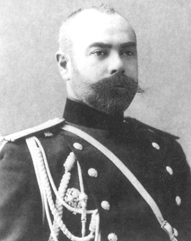 Полковник Антон Деникин в 1906 г.