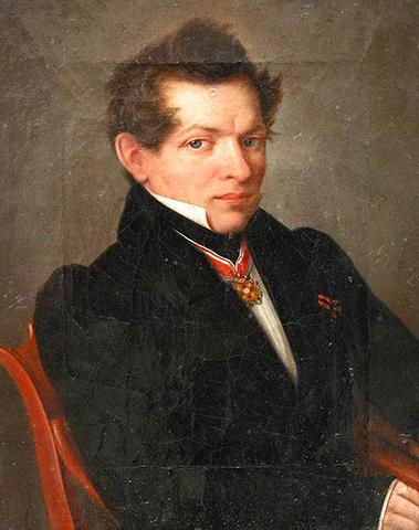 Николай Лобачевский. Портрет Л. Д. Крюкова
