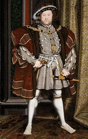 Портрет Генриха VIII Тюдора
