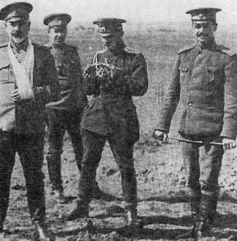 После ранения в 1916 г.