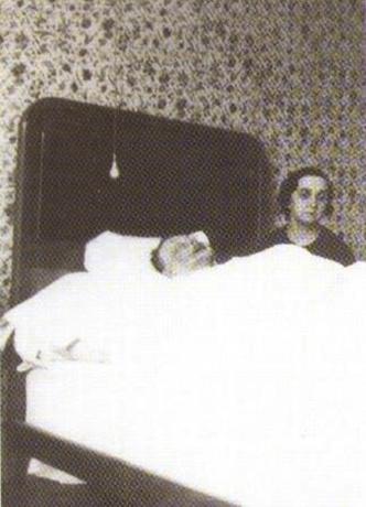 Александр Глазунов на смертном одре