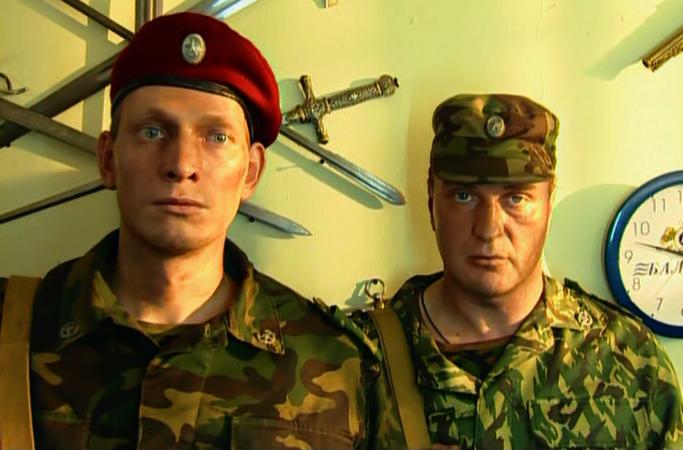 В сериале «Спецназ» (2002)