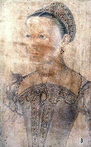Мария Стюарт в возрасте 9 лет