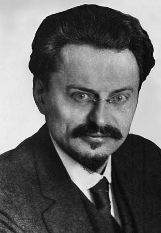 Лев Троцкий в 1929 г.