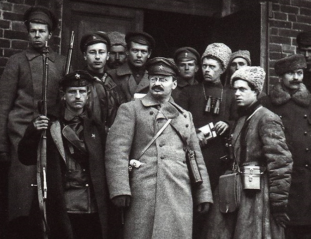 Лев Троцкий во время революции