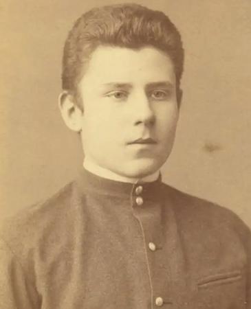Максимилиан Волошин во время учебы в гимназии