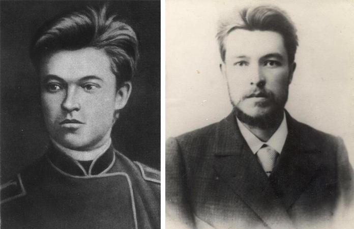 Вячеслав Шишков в юности и молодости