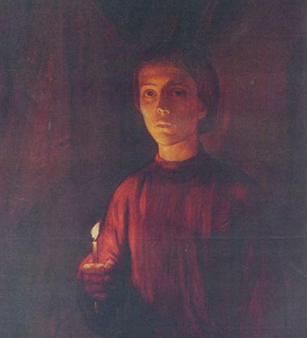 Андрей Рублев в юности