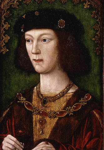 Генрих VIII в юности