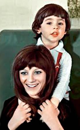 Наталья Варлей с сыном Василием