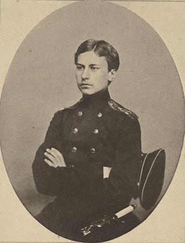Василий Верещагин в кадетском корпусе (1960 г.)