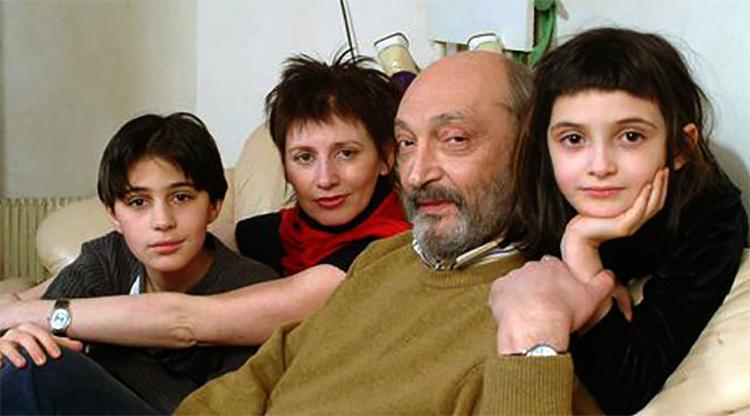 С четвертой женой Анной Ямпольской и детьми