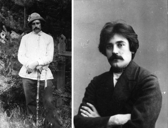 Сергей Клычков в молодости