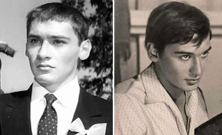 Владимир Тихонов в молодости